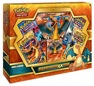 Details About Original Pokemon Cards Charizard Ex Box Gift Set Sealed