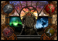 Game of Thrones Pinball Alternate Translite NEW VERSIONS (6 Choices)