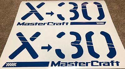 "MASTERCRAFT WAKE BOAT EMBLEM TRAILER GRAPHIC KIT 28/"" DECAL STICKER X-STAR XSTAR"