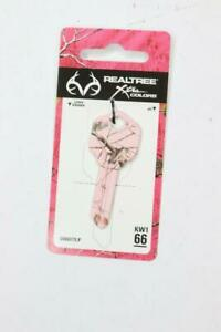 Pack of 6 Hillman RealTree Pink House//Office Universal Key Blank Single sided