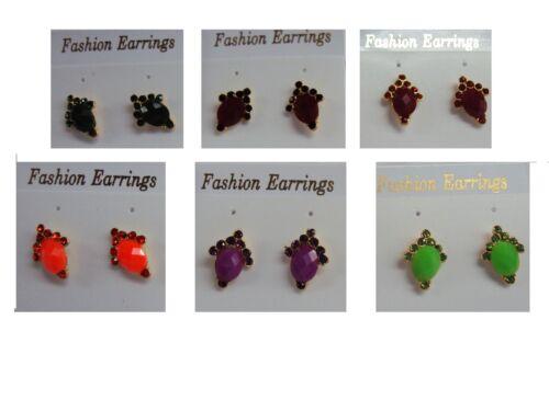 Joyas De Moda Color Dorado diseñador moda pendientes Nueva
