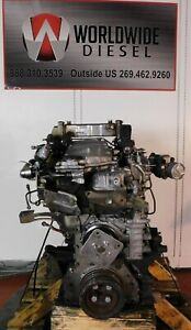 2011-Isuzu-4HK1TC-Diesel-Engine-Take-Out-210HP-Good-For-Rebuild-Only