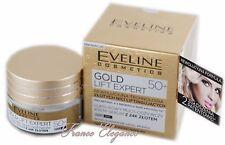 Eveline LIFT EXPERT MULTI-PFLEGENDE CREME - SERUM MIT 24K GOLD 50+ Antifalten