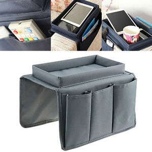 Couch Sofa Recliner Chair Arm Rest Storage Organizer
