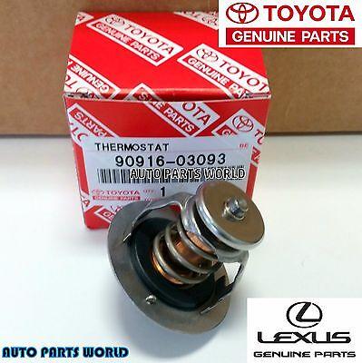 Genuine OEM Toyota Lexus 90916-03093 Engine Thermostat Prius Yaris Tacoma GS300