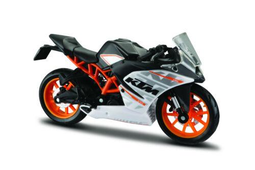 KTM RC 390 Maßstab 1:18 die cast bike model von Maisto
