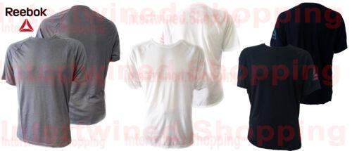 Reebok Men/'s Workout Ready Supremium Short Sleeve Flexible Speedwicking T-Shirt