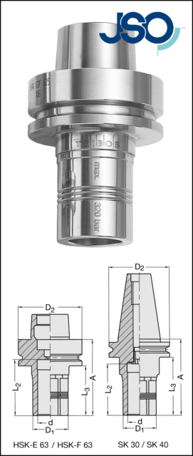 JSO VHW-Vielzahnschlichtfräser 6x20x60mm Z=3 S=6mm RL-RD