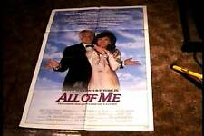 ALL OF ME  ORIG MOVIE POSTER 1984 STEVE MARTIN LILY TOMLIN
