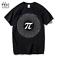 New-Pi-mens-T-shirt-men-039-s-cotton-loose-with-short-sleeves thumbnail 1