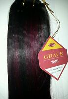 100% Human Hair Mink Yaki Weaving/12/grace Yaki/straight/weft
