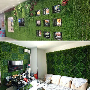 Modern-40-60cm-Fake-Artificial-Green-Wall-Vertical-Screen-Plants-Hedge-Ivy-LN8