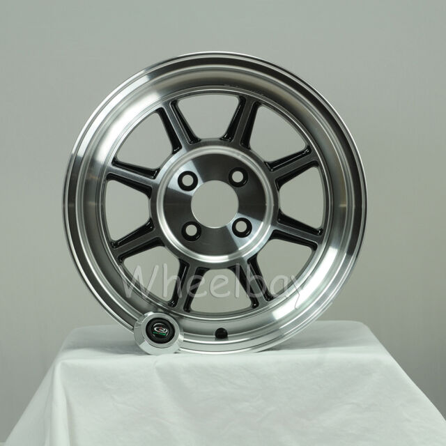 ROTA WHEEL SHAKOTAN 15X7 4X114.3 +25 FULL ROYAL BLACK  DATSUN 510 MGB SAAB