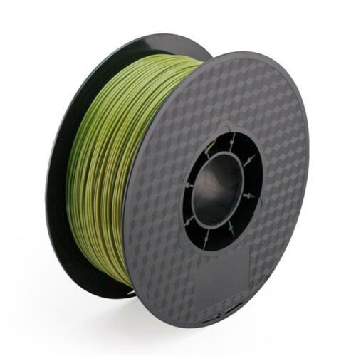3D Printer PLA Filament 1.75 mm Spool Army Green Military Green 1.0 kg 2.2LBS