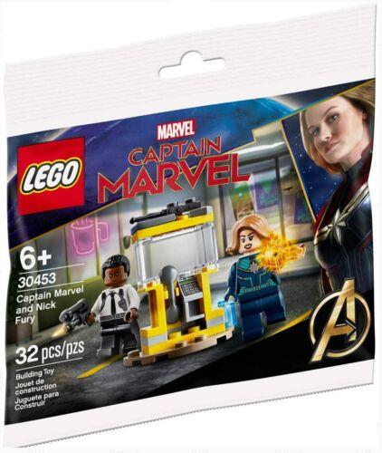 LEGO MARVEL Avengers 30453 Captain Marvel /& Nick Fury Polybag New Sealed