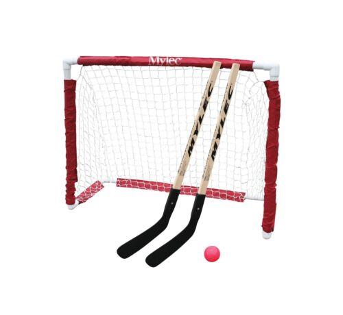 Mylec Jr White Hockey Goal Set