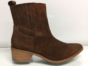 Steve-Madden-Zip-Up-Ankle-Boots-Brown-10-US