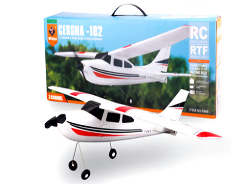 Original Wltoys F949 2.4G 3Ch RC Airplane Fixed Wing Plane Outdoor toys