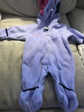 Hawke Sport Infant Girl/'s Cute Down Lightweight Bunting Lavender Frost