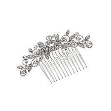 Bridal Bridesmaid Flower Girl Rhinestones Prom Wedding Tiara Comb 81045