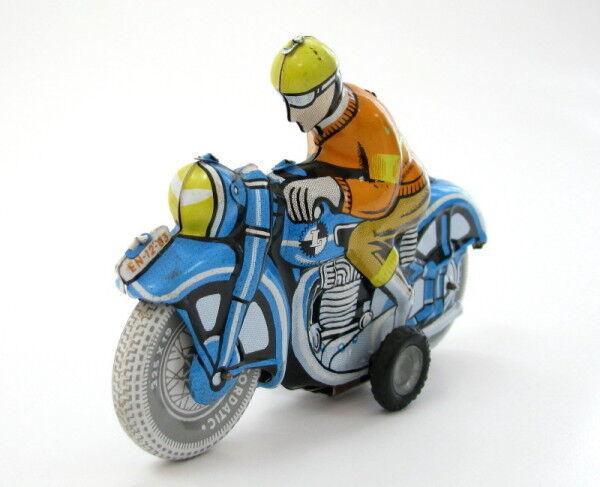 VINTAGE FRICTION TOY MOTORCYCLE BALLON CORDATIC LEMEZ