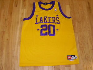 60355687 Image is loading Vintage-Nike-GARY-PAYTON-57-LOS-ANGELES-LAKERS-