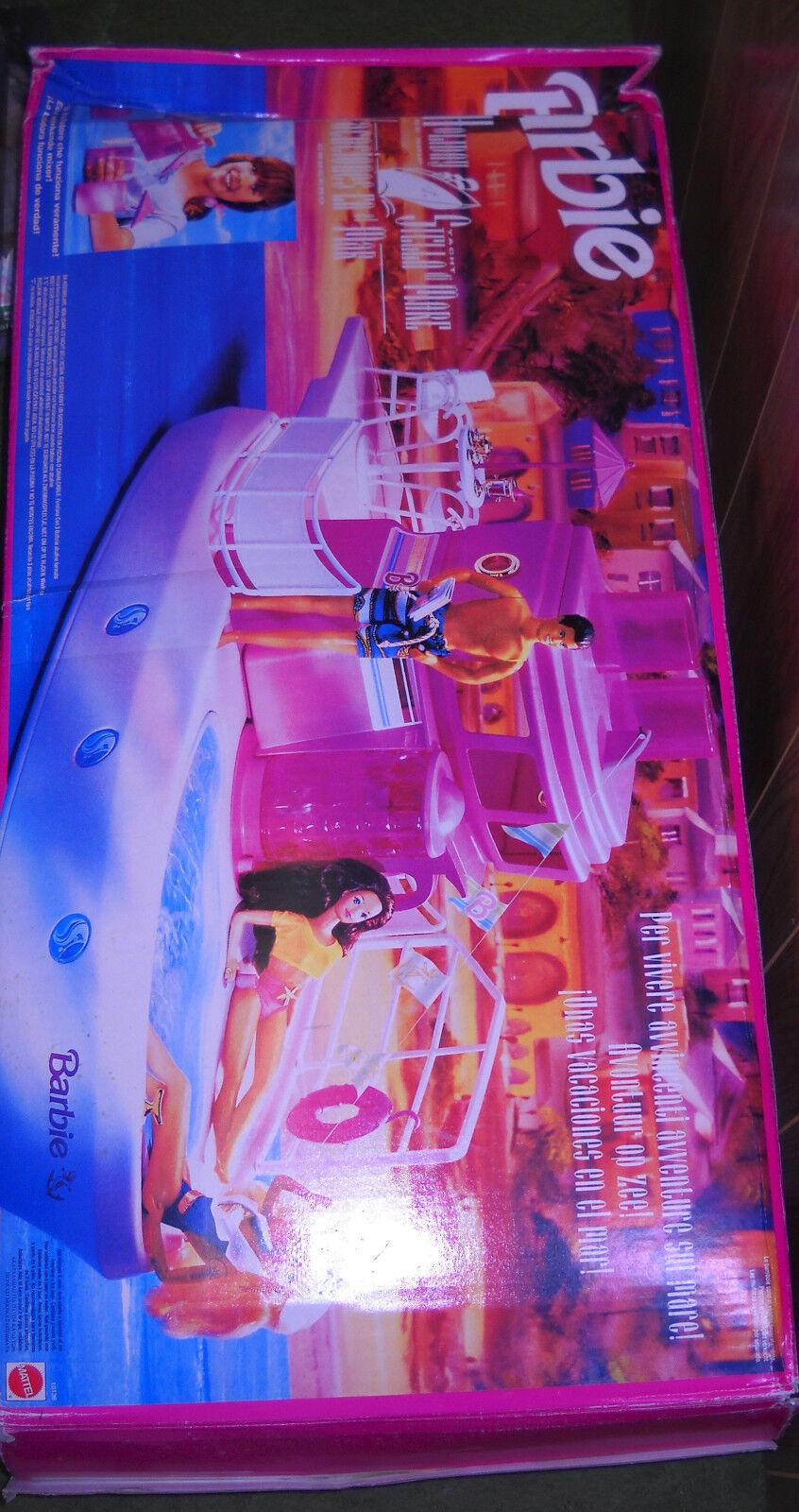Mattel Barbie extranjeros vacaciones mar crucero, Croisiere De Reve Playset