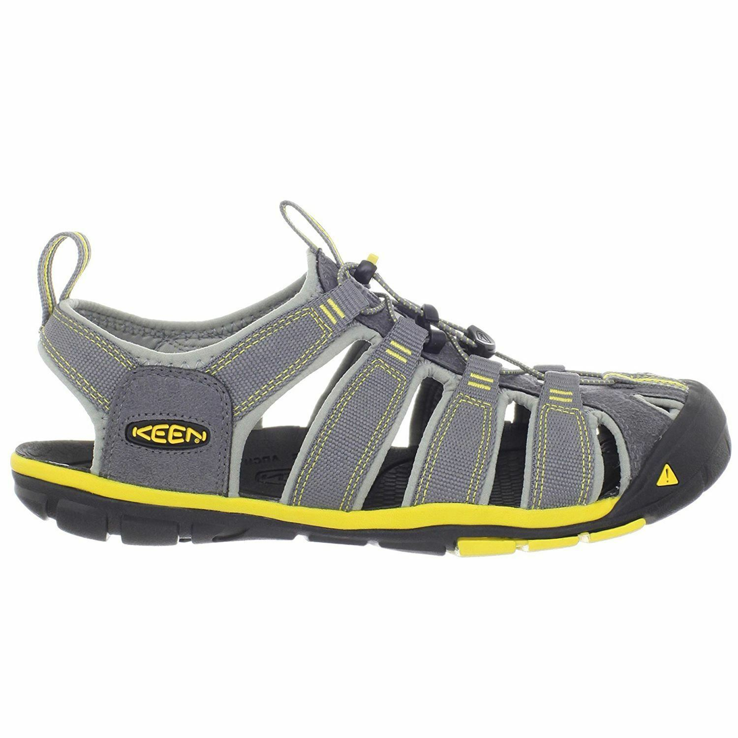 KEEN Clearwater CNX Gargoyle Super Lemon Uomo Strapped sandals