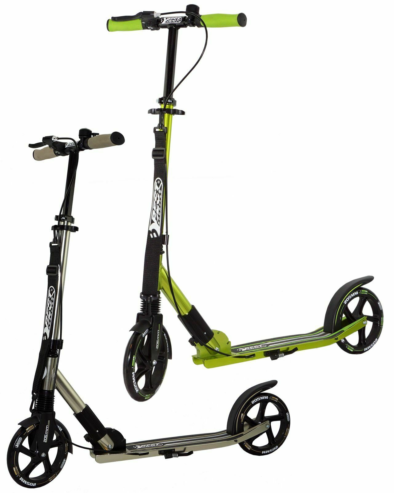 Best Sporting Scooter 205er rossoolo, in Alluminio, Tracolla Bambini City Scooter