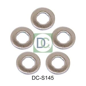 Seals Pack of 5 Volvo XC70 II D3 Common Rail Diesel Fuel Injector Washers