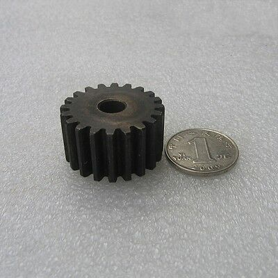 Qty 1x  Motor Spur Pinion Gear 4.0Mod 19Tooth Thickness 35mm Outer Dia 84m