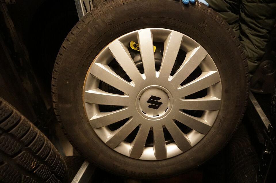 Suzuki SX4 15'' Stålfælge med vinterdæk. Varenr...