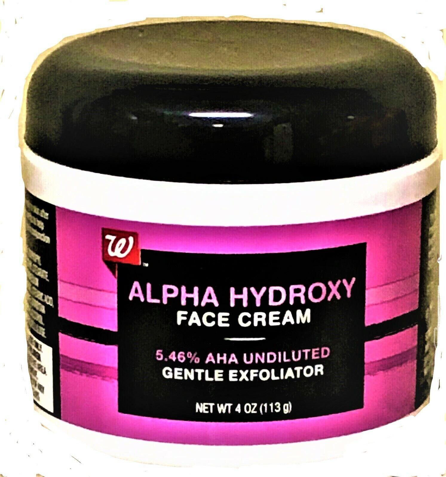 alpha hydroxy face cream