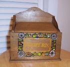 Vintage Recipe Box Wood