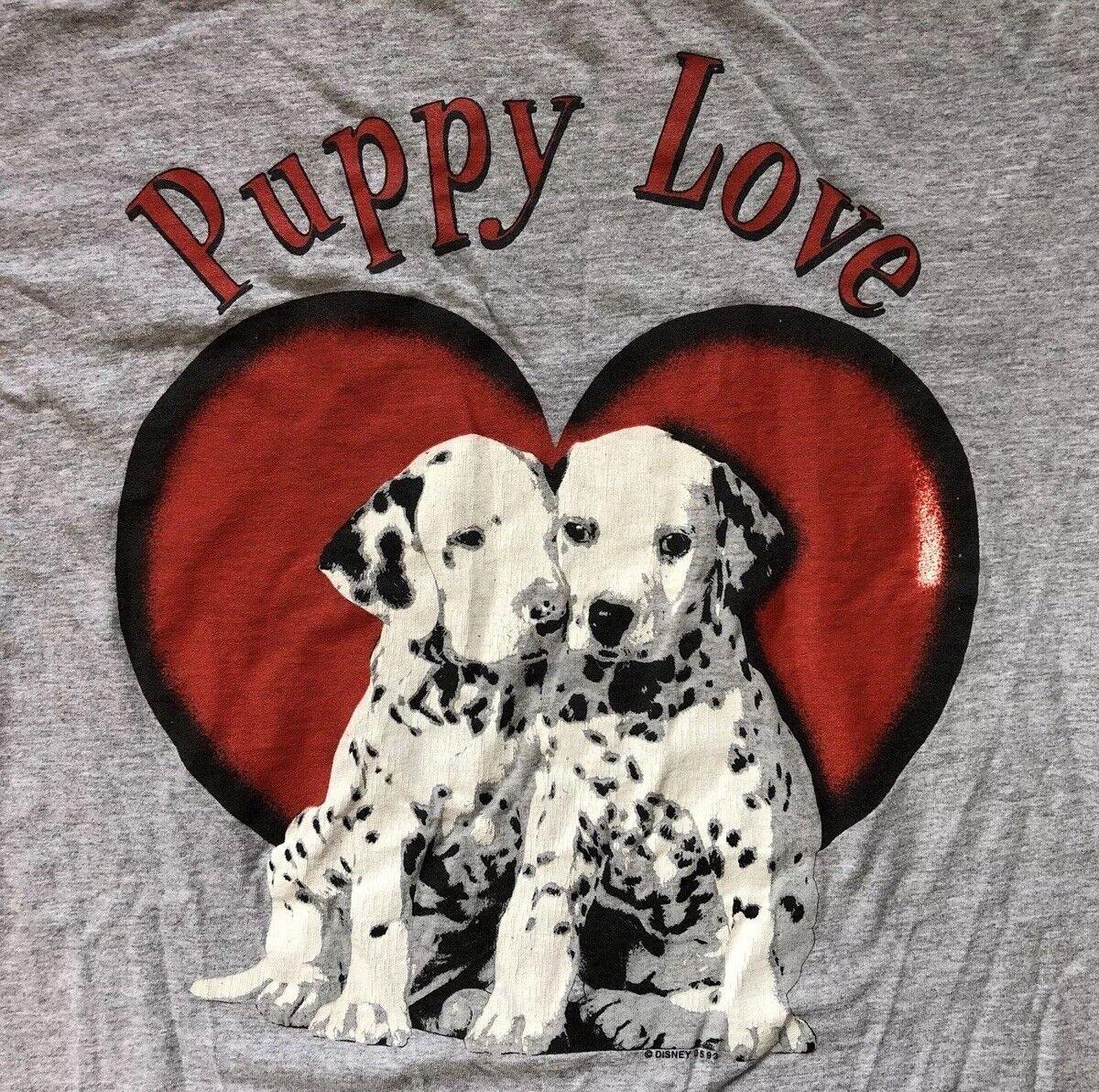 Vintage 1993 101 Dalmations Puppy Love L/xl Rare 90s Hip Hop Collectors Shirt