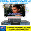 thumbnail 2 - SONKEN MP4000 KARAOKE MACHINE 128 SONG VOCAL SINGER PACK #2 - 2 MICS - BLUETOOTH