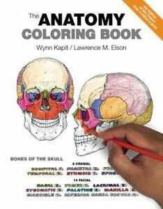 The Anatomy Coloring Book By Lawrence M Elson And Wynn Kapit Paperback 4th Edition 2013