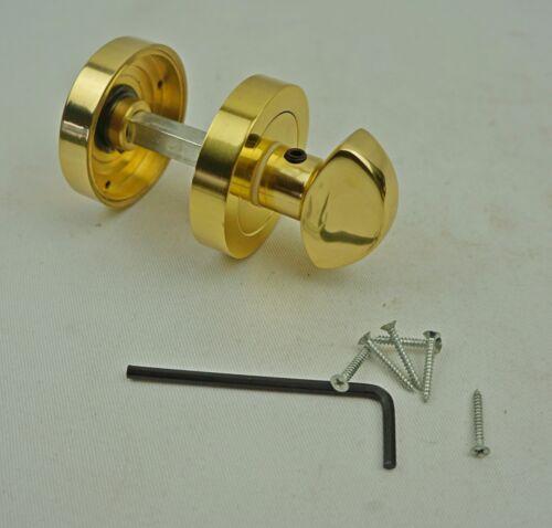 G151 Carlisle brass aq tumb tourner /& sortie verrou laiton poli AA10