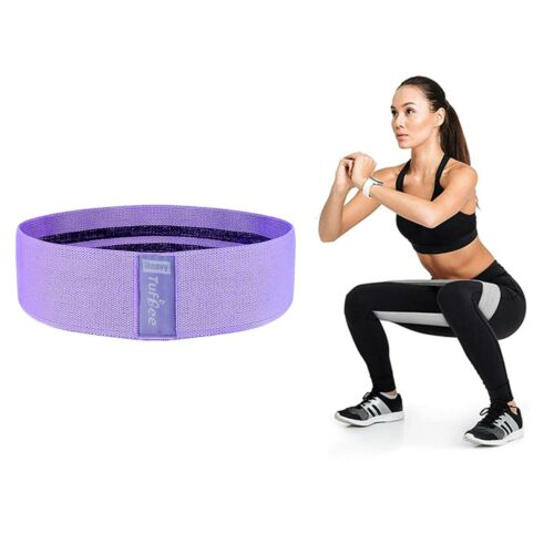 Tufbee Resistance Bands Booty Fabric Glutes Hip Circle Legs Squat Yoga Non Slip