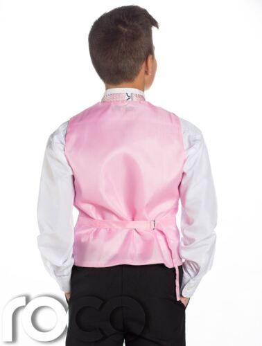 pagina RAGAZZO Abiti a giacca RAGAZZI Baby Rosa e Nero Suit Ragazzi Matrimonio vestiti completi per ragazzi