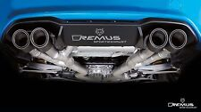 REMUS Cat Back Sport Exhaust for BMW F87 M2 Coupe SEMA Demo Black Chrome Tips