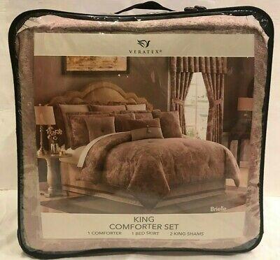 Veratex Luxuriously Oversized Comforter, Bedding Oversized Comforter Sets