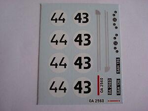DECALS-KIT-1-43-Saab-93-Le-Mans-1959-N-43-44-2-VERSIONI
