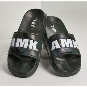 AMK Soldier Original Slides Camouflage Badeschuhe Schlappen Badelatschen Slipper