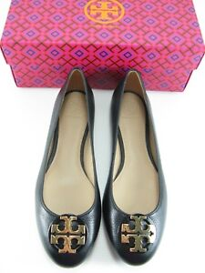 9f46d72d1 Image is loading NEW-Tory-Burch-Claire-Tumbled-Leather-Ballet-Flat-