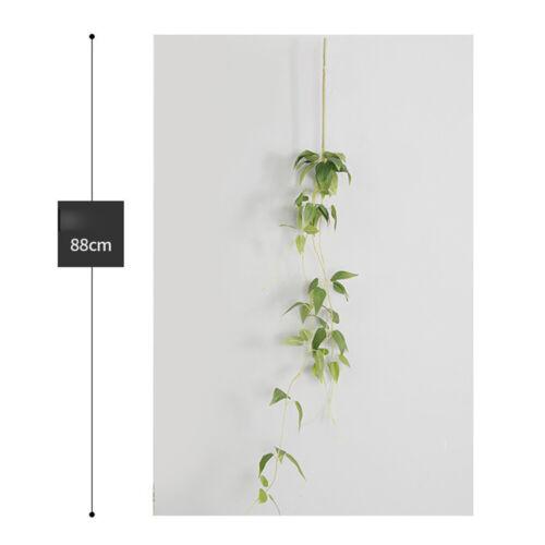Artificial Flower Wall Hanging Leaves Vine Clematis Chlorophytum Decoration