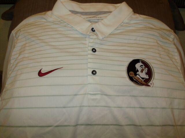 9f97da7ec Florida State Seminoles Nike Mens Early Season Coach Polo Shirt 034417 2xl