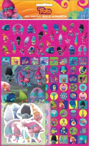 Trolls 2 World Tour Movie Stickers Fun Painting Colouring Play Sets Variation