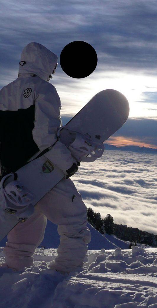 Snowboarder Mountaintop Themed Cornhole Board Prints   Wraps   Corn Hole