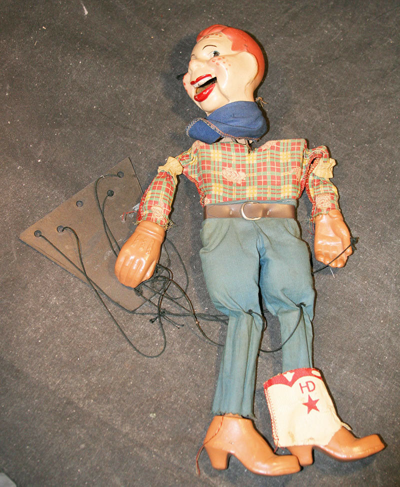1950's Howdy Doody String Puppet - As Found